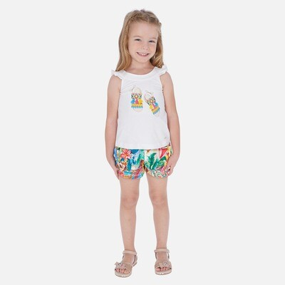 Tropical Shorts Set 3290 2