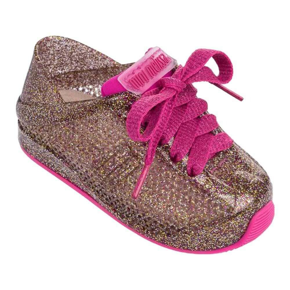 Love System Sneaker - Pink Glitter