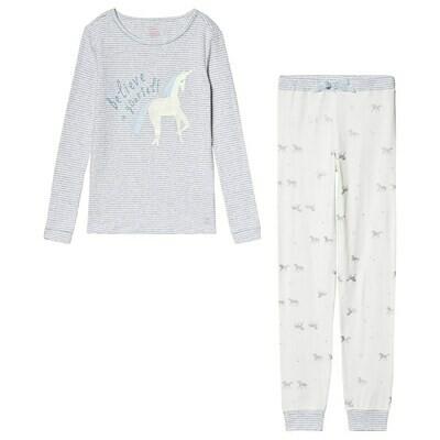 Silver Unicorn PJs 1y