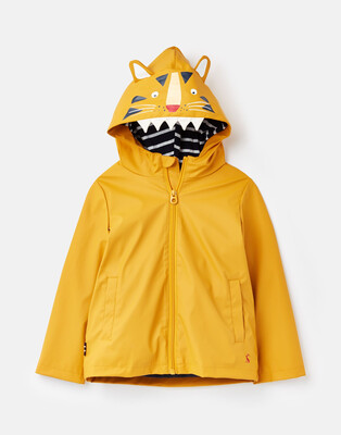 Yellow Tiger Raincoat