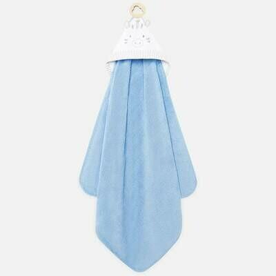 Blue Animal Towel 9723