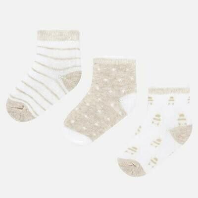 Beige Sock Set 9243 3m