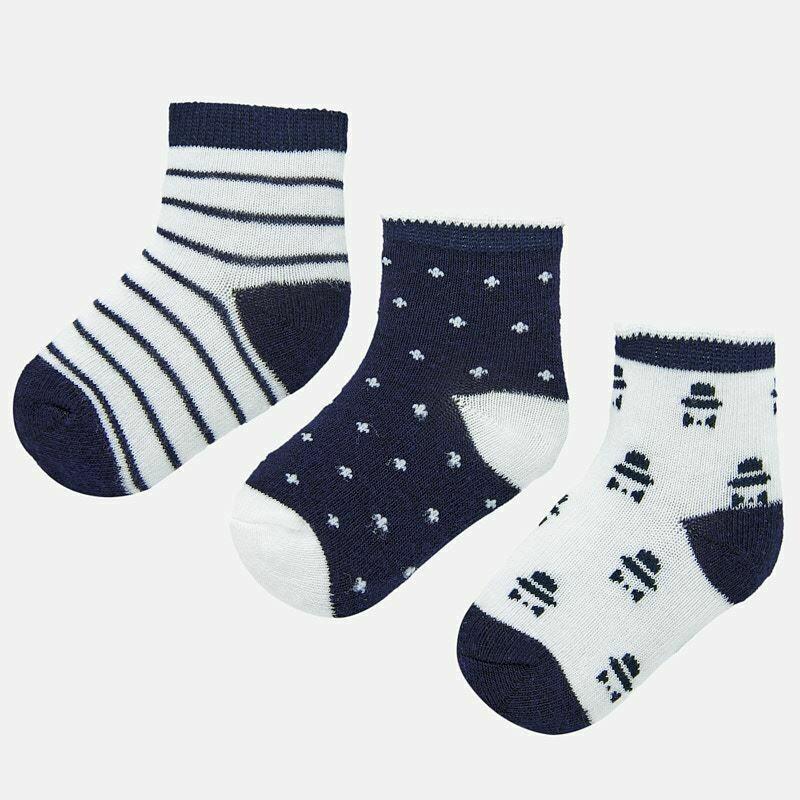 Navy Sock Set 9243 3m