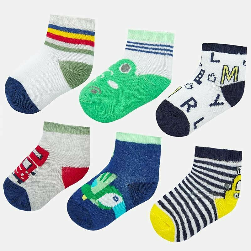 Set of 6 Socks 9244 3M