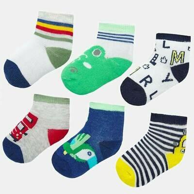 Set of 6 Socks 9244 3M
