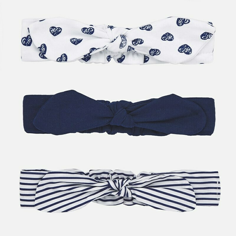 Navy Headband Set 9268 6m