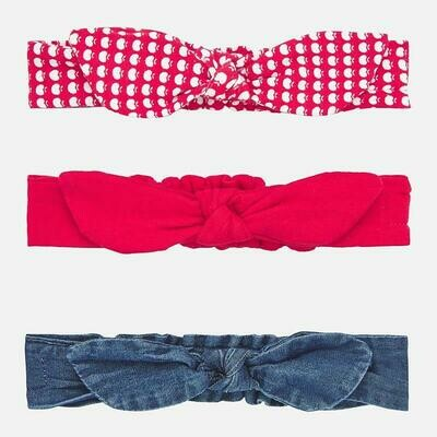 Red Headband Set 9268 12m