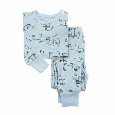 Dog Print PJ Set WF4103