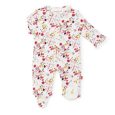 Pom Pom Organic Cotton Footie