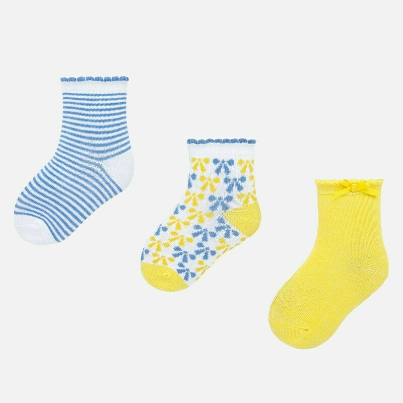 Set of Yellow Socks 12m