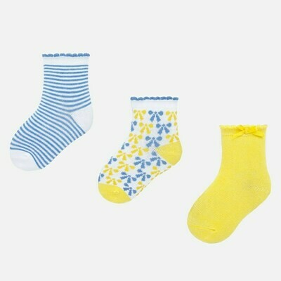 Set of Yellow Socks 6m