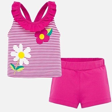 Daisy Shorts Set 1209 9m