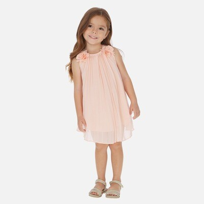 Pleated Dress 3922 2