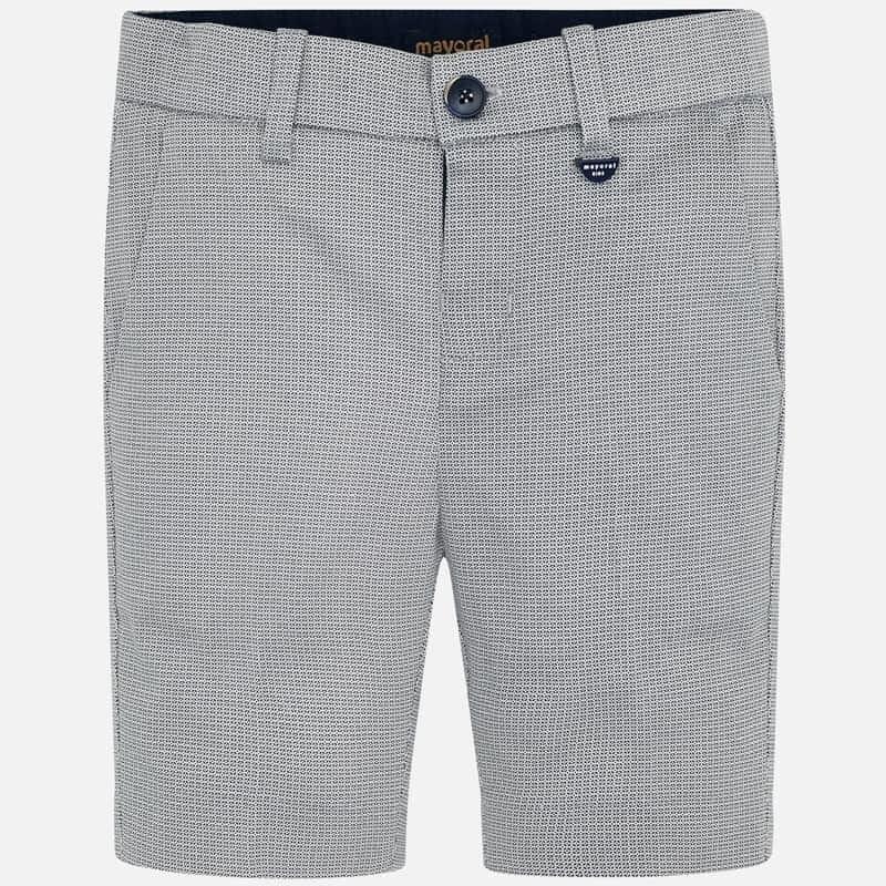Grey Dress Shorts 3252 4