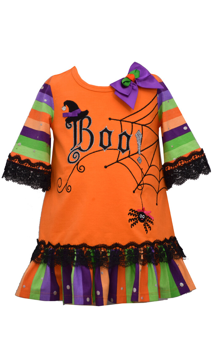 Spider BOO Dress Set