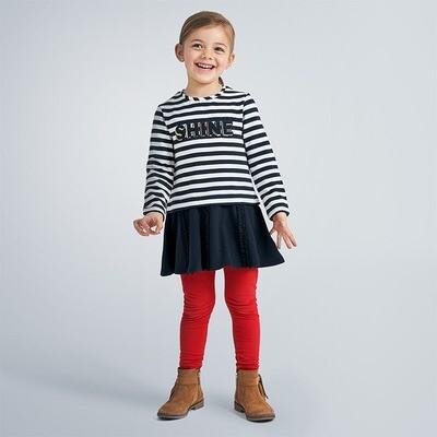 Basic Knit Leggings 717