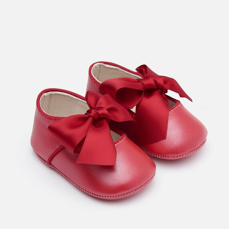 Red Bow Shoes 9214 - 18
