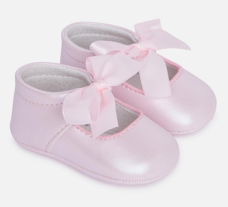 Lt. Pink Ribbon Shoes 9499