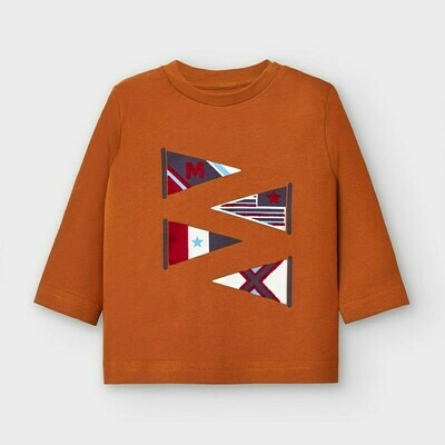 Flags LS T-Shirt 2039