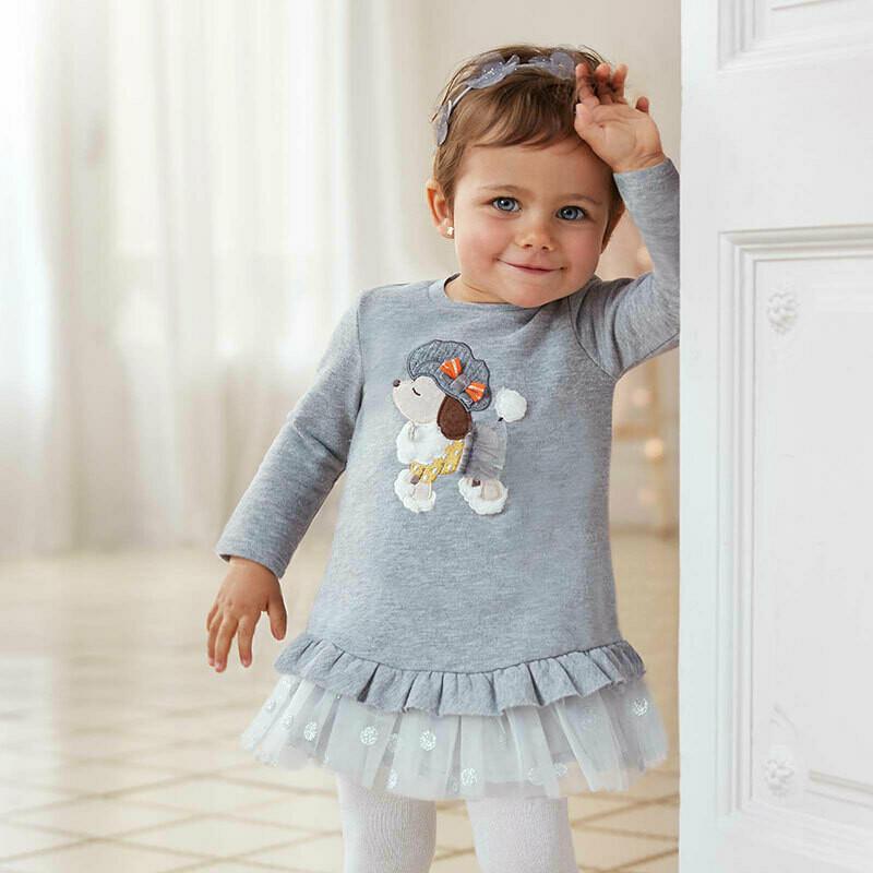 Plush Tulle Dress 2965