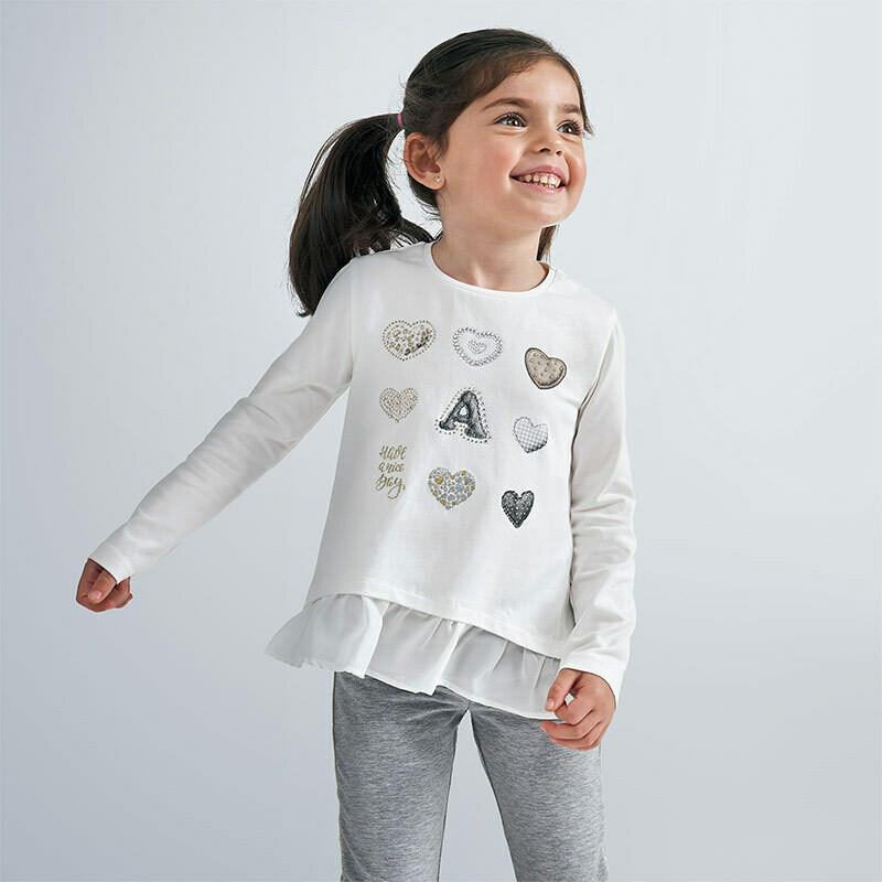 LS Hearts T-Shirt 4063