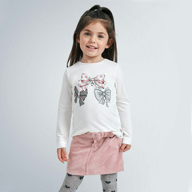 LS Bows T-Shirt 4068