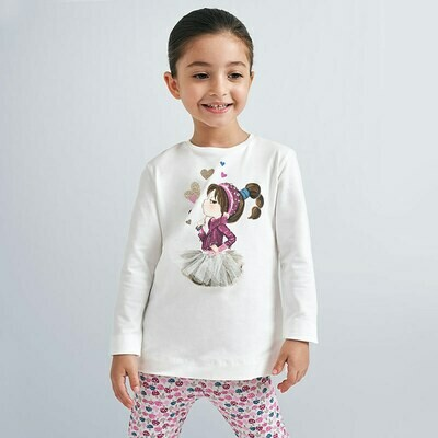 Tutu Girl T-Shirt 4070