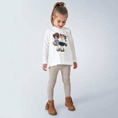 Fashion Girls Legging Set 4724