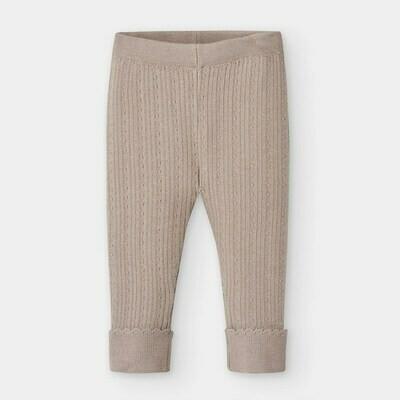 Tan Knit Leggings 10837