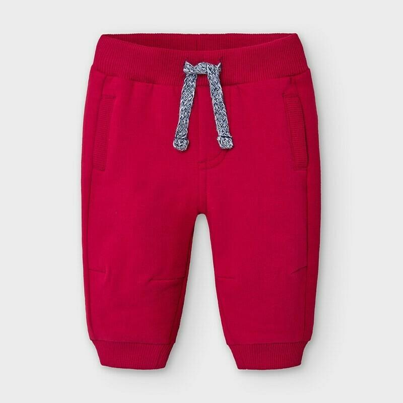 Red Fleece Sweatpants 719