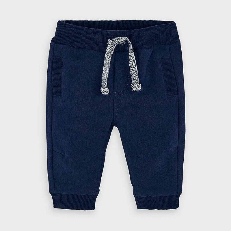 Navy Fleece Sweatpants 719