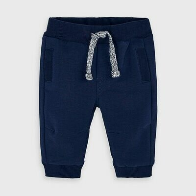 Navy Fleece Sweatpants 719