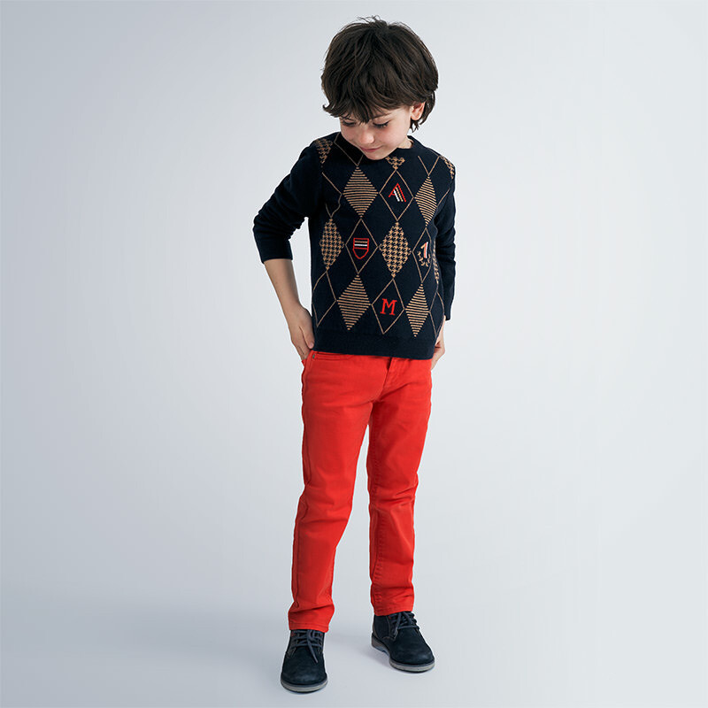 Flame Red Pants 41