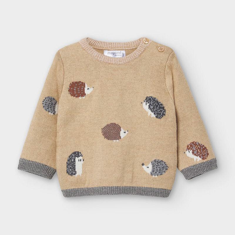 Hedgehog Knit Sweater 2340