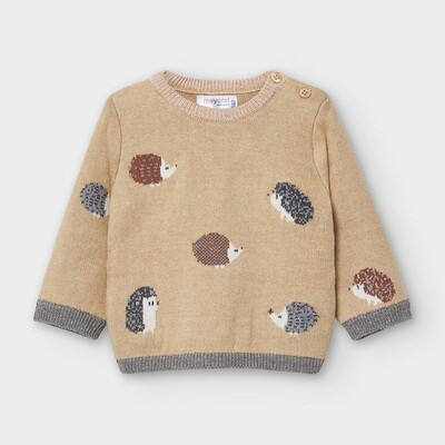 Hedgehog Knit Sweater 2340