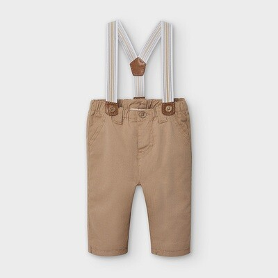 Tan Suspender Pants 2565