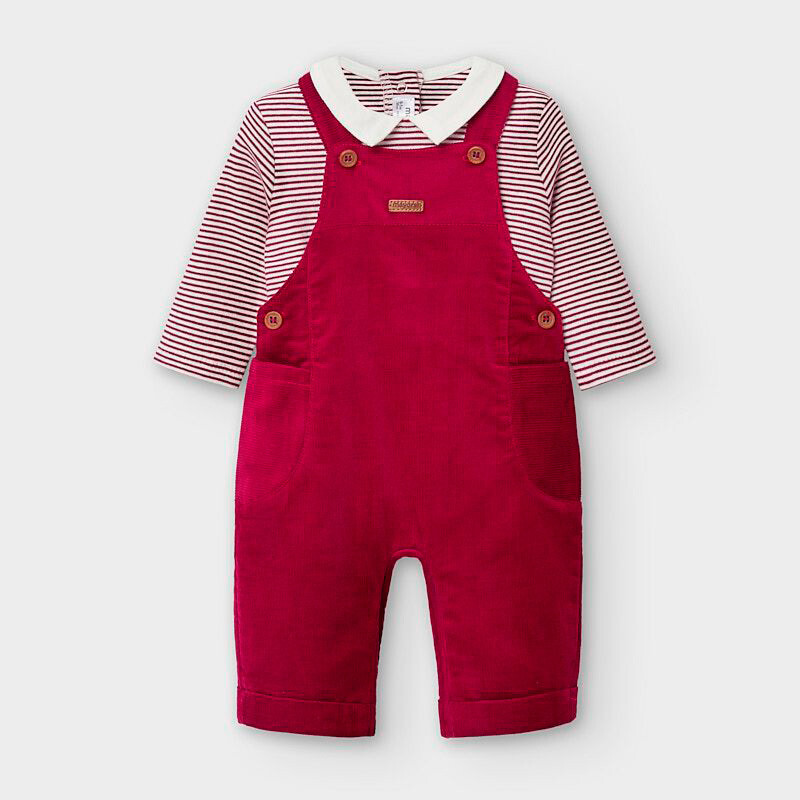 Red Overall Set 2638