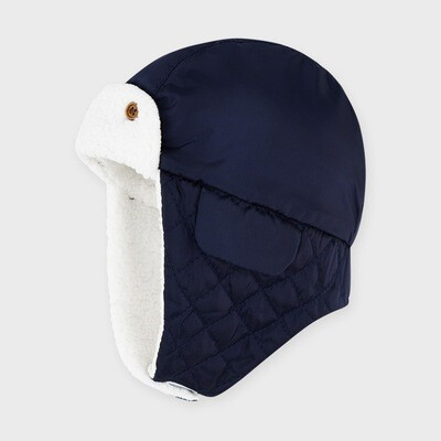 Navy Flap Hat 9321