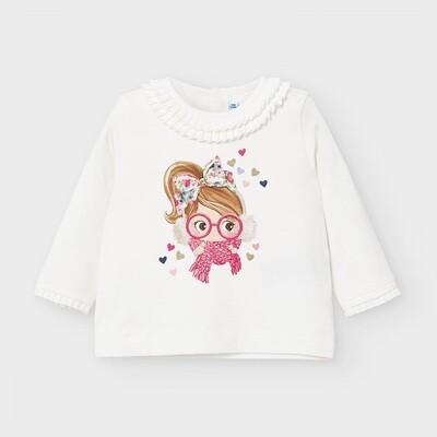 Winter Girl Shirt 2055 Coral