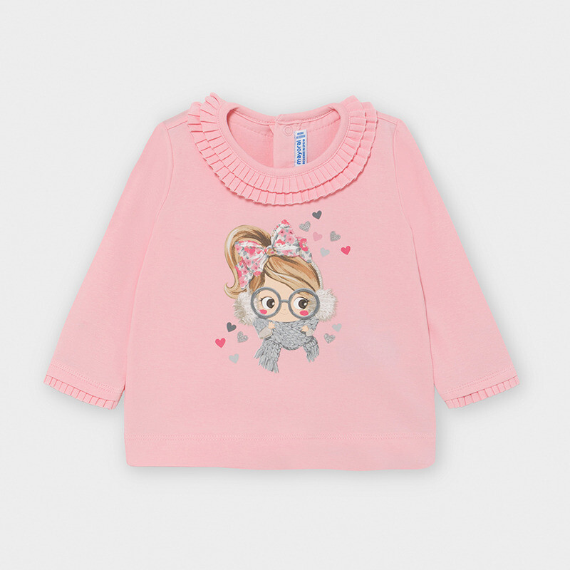 Winter Girl Shirt 2055 Pink