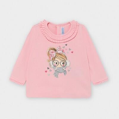 Winter Girl Shirt 2055 Pink