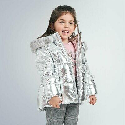Metallic Padded Coat 4419