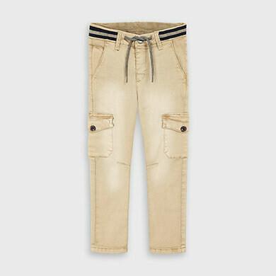 Tan Cargo Pants 4534
