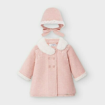 Knit Coat & Hat 2459