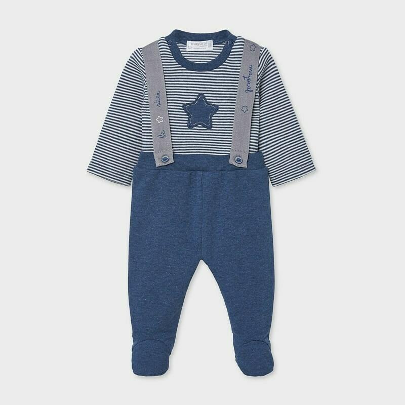 Suspender Pants Set 2555