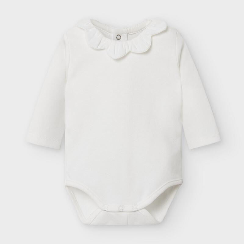 White LS Onesie 2775