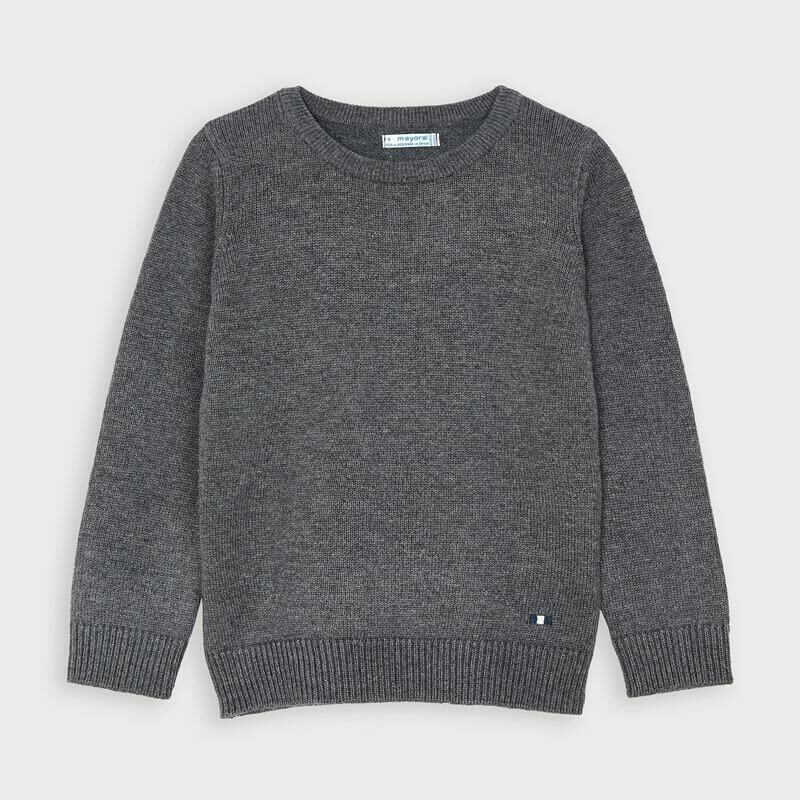 Grey Pullover Sweater 311