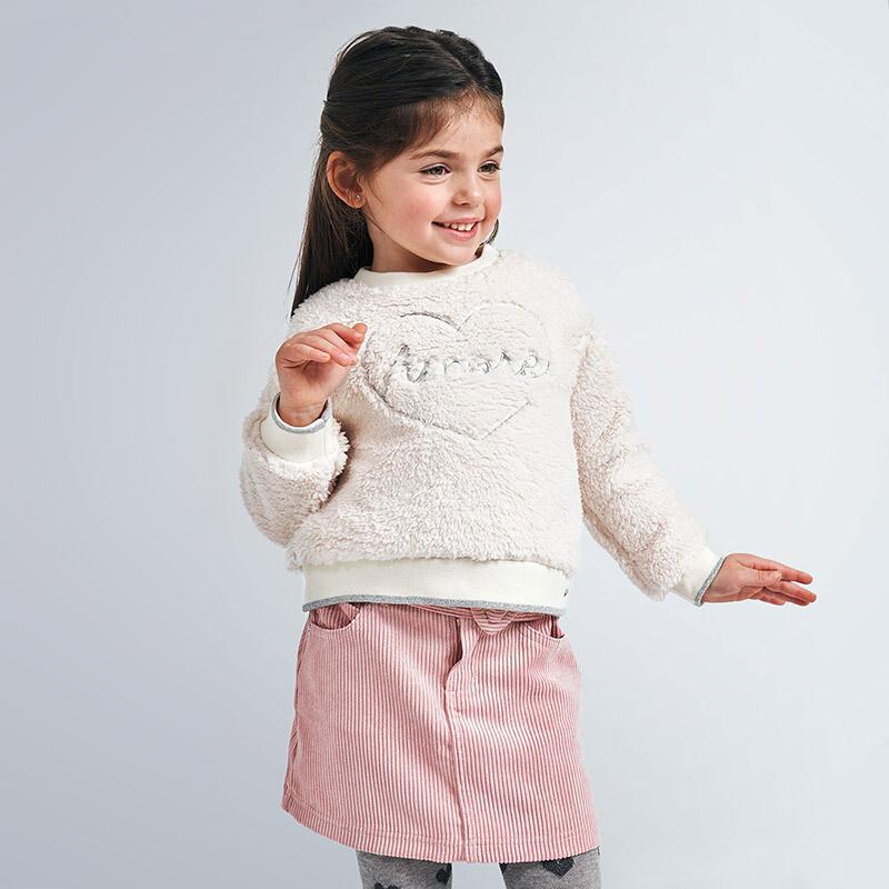 Pink Corduroy Skirt 4959
