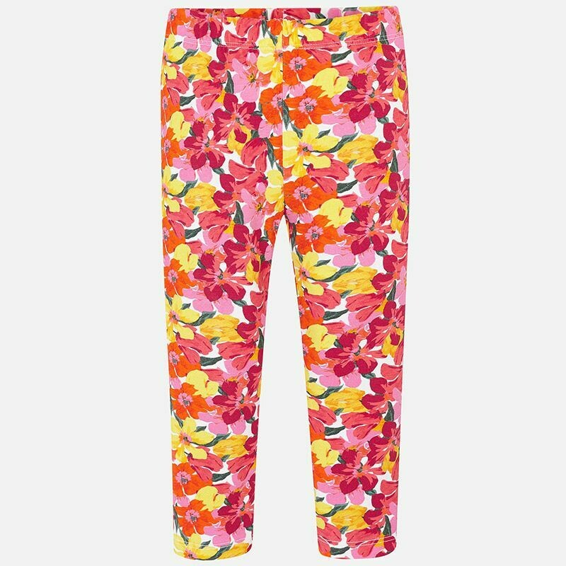 Floral Leggings - 7