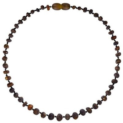 Raw Green Amber Necklace